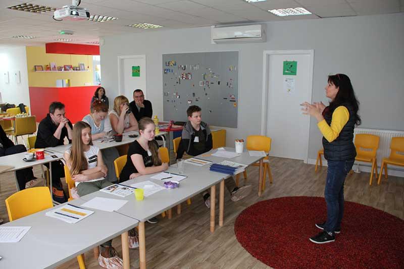 Dáša Černá na seminári o talentoch s deťmi
